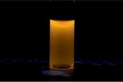 Carbon Quantum Dots - Orange ( λem:604nm, Exc: 365 nm)