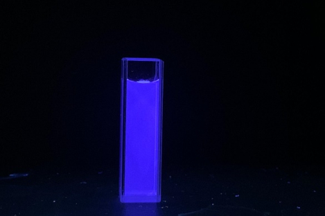 Carbon Quantum Dots - Blue, Sulfur and Nitrogen Doped (λem:445 nm, Exc:400nm)