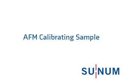 AFM Calibrating Sample