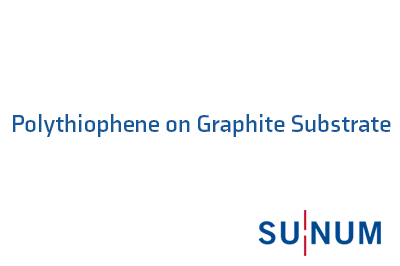 Polythiophene on Graphite Substrate